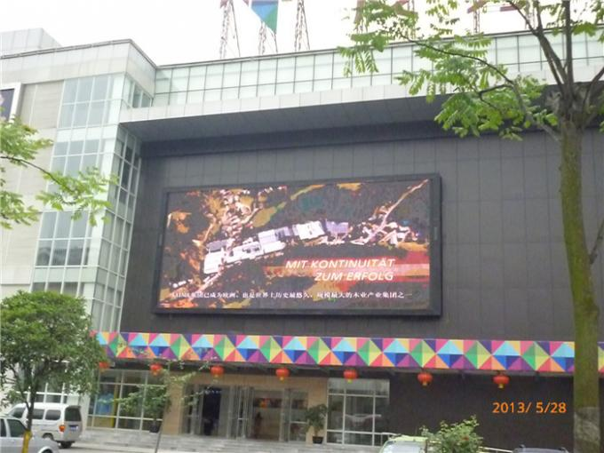 Front Maintenance P3 Outdoor Led Display , Commercial Advertising LED Display