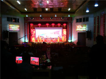 China Front / Back Service Stage Rental LED Display For Events 2.976mm Pixel Pitch supplier