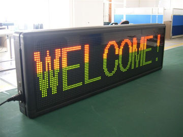 High Definition Double / Single Color LED Display Boards 1000cd/㎡ Brightness