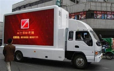 Portable Mobile Truck LED Display Automatic Control High Arrival Rate