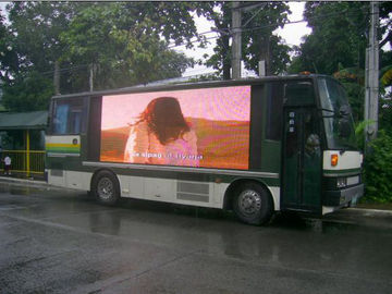 China Advertising Applied Mobile Truck LED Display Wide Release Area Energy Efficient supplier
