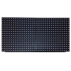 China Pixel Pitch 10mm Single Color LED Module 500-3000 Hz Adjustable Refresh Rate supplier