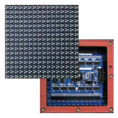 China 5000cd/㎡ High Brightness P10 Smd Outdoor Module Panel 500-3000 Hz Refresh Rate supplier