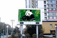 China 5000cd/㎡ Pole Led Display , Exterior Led Display 320mmx160mm Module Size factory