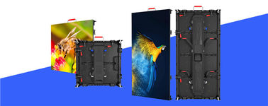 China High Definition P4 81 Led Screen 1000-3000 Hz 250mmx250mm Module Size factory