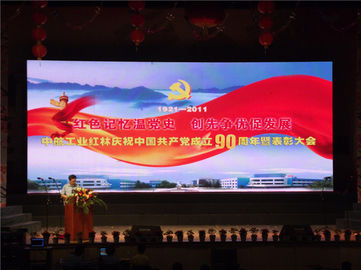 4.81mm Concert Led Display , Front Maintenance Led Display Low Pover Consumption