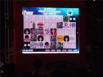 P6.25 Led Large Screen Display , Led Rental Display 500mmx1000mm Body Size