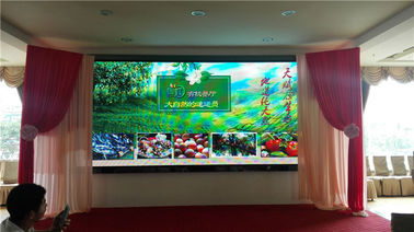 High Definition P6 Indoor Full Color LED Display Big Viewing Angle No Color Excursion