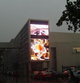 High Brightness P10 Outdoor Led Screen , Square Led Display Fixed Installation