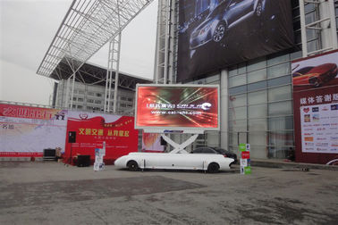 China Outdoor Mobile Truck LED Display With Self Contained Generator Low Noise Design factory
