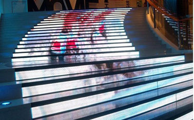High Strength Creative LED Display , Flexible Led Display Panels Simple Operation