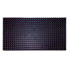 Outdoor P10 Single Color LED Module 320mmx160mm Size Damp Proof