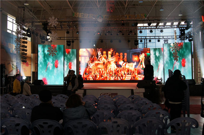 Durable P5 Outdoor Led Display , Front / Back Service Commercial Led Screens
