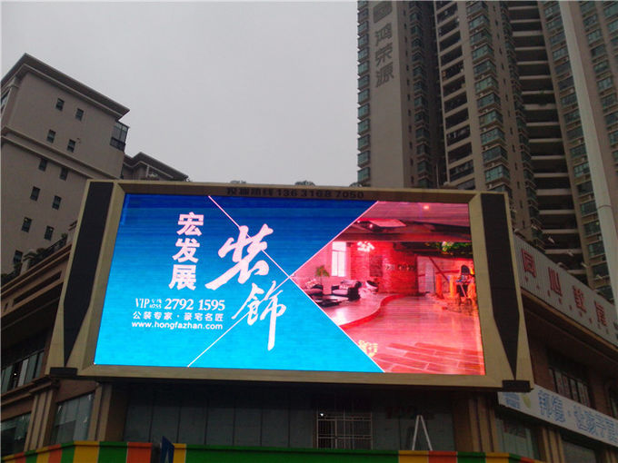 Durable 10mm Led Screen / Waterproof Led Display For Architecture Projects
