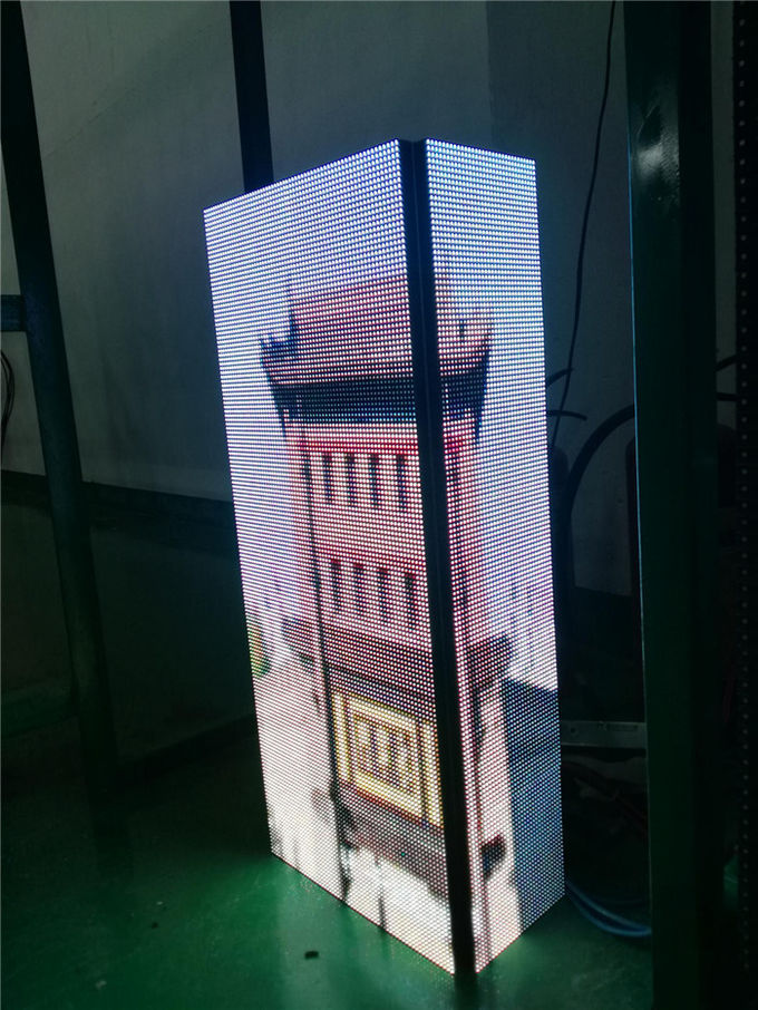 Hotel Museum Creative LED Screen / Irregular Led Display Hanging Installation